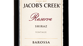 Reserve Barossa Shiraz Label