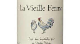 La Vieille Ferme 2014 Label