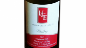 Hillier Creek Estates 2015 Riesling | White Wine