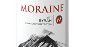 Moraine Estate Winery 2012 Syrah (Shiraz) Label