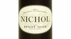 Nichol Vineyard 2015 Pinot Noir Label