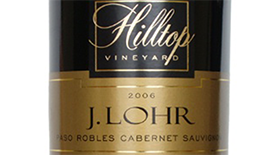 J. Lohr Vineyards & Wines 2006 Cabernet Sauvignon Label