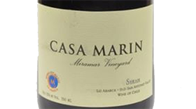 Vina Casa Marin 2009 Syrah (Shiraz) | Red Wine
