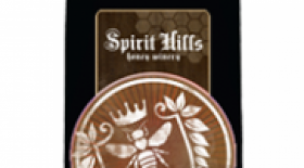 Spirit Hills Honey Winery Bonfire Label
