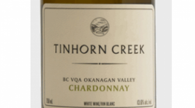 Tinhorn Creek Vineyards 2014 Chardonnay Label