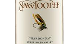 Sawtooth Classic Fly Series Chardonnay Label