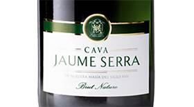 Cava Jaume Serra Brut Nature Label