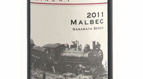 Kettle Valley Winery 2011 Malbec Label