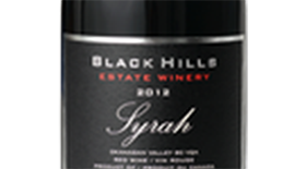 Black Hills Estate Winery 2012 Syrah (Shiraz) Label