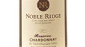 Noble Ridge Reserve 2011 Chardonnay | White Wine