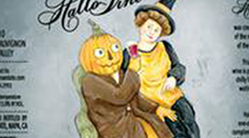 Hallovine Wine Label