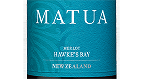 Merlot Hawke's Bay Label
