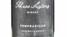 Three Sisters Winery 2016 Tempranillo Label
