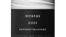 Stratus Vineyards 2011 Gewürztraminer Label