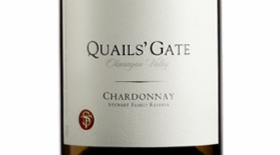 Quails' Gate Winery 2016 Stewart Family Reserve Chardonnay Label