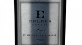 Ehlers Estate 2015 Merlot Label