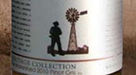 The Watershed  Pinot Gris Label