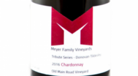Meyer Family Vineyards 2016 Tribute Series Chardonnay Label