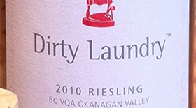 Dirty Laundry Vineyard 2010 Riesling Label
