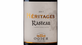 Ogier 2012 Hèritages Rasteau Label