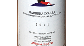 Andrea Oberto 2011 Barbera d'Alba | Red Wine