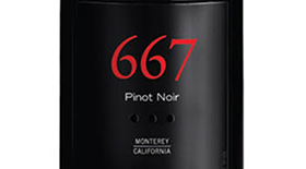 Noble Vines 2012  Pinot Noir 667 Label