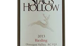 Stag's Hollow 2013 Riesling Label