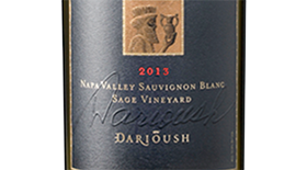 Darioush 2013 Sauvignon Blanc Label