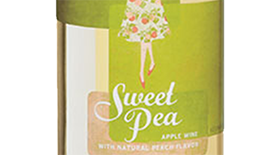 Sweet Pea Apple Peach Label