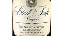 "Black Swift Vineyards 2015 ""Oak Street Vineyard"" Chardonnay 