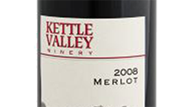 Kettle Valley Winery 2008 Merlot Label