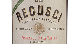 Regusci Zinfandel Stags Leap District Label