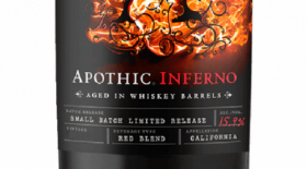 Apothic Inferno California Label