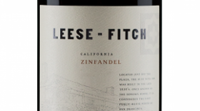 Leese-Fitch 2014 Zinfandel California Label