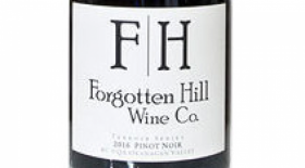 Forgotten Hill Wine Co. 2016 Pinot Noir Family Reserve Label