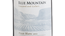 Blue Mountain Vineyard and Cellars 2013 Pinot Blanc Label