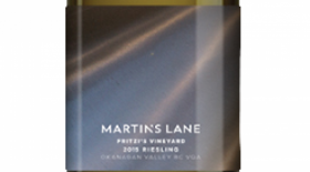 Martin's Lane Winery Fritzi's Vineyard 2015 Riesling | White Wine