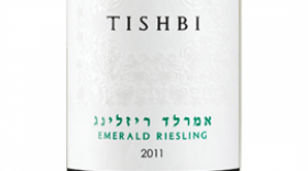 Tishbi Emerald Riesling Label
