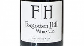 Forgotten Hill Wine Co. 2016 Pinot Noir Terroir Series | Red Wine