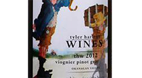 TH Wines 2012 Pinot Gris (Grigio) blend Label