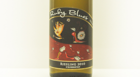 Riesling  Naramata Bench Label