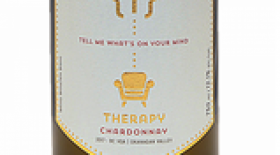 Therapy Vineyards 2017 Chardonnay Label
