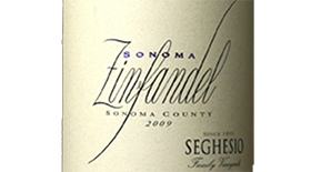 Seghesio Family Vineyards 2010 Zinfandel Label