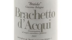 Brachetto d'Acqui Dessert wine Label
