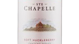 Ste. Chapelle Chateau Series Soft Huckleberry Label