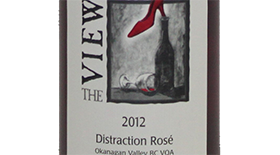Distraction Rose Label