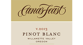 Cana's Feast 2013 Pinot Blanc Label