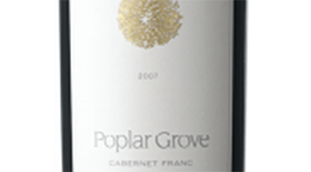Poplar Grove Winery 2007 Cabernet Franc Label