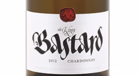Marisco Vineyards The King's Bastard 2012 Chardonnay Label