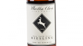 Martha Clara Vineyards 2013 Riesling Label